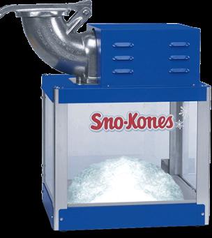 rental snow cone machine