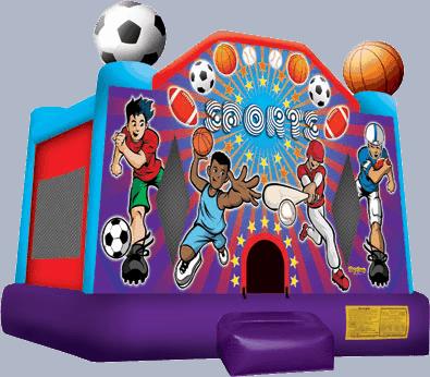 Sports Bounce House Rental