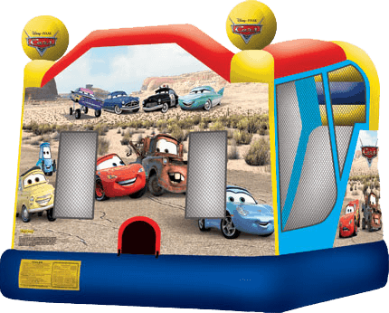 Cars Slide Bounce Combo