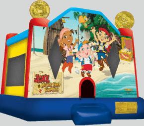 Jake and Neverland Pirates Bounce House