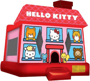 Hello Kitty Bounce House