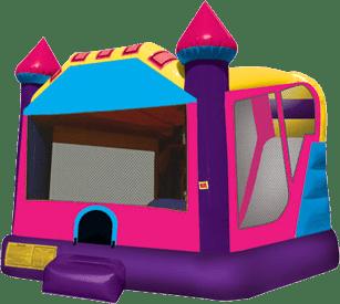 Pink Castle Slide Bounce Combo