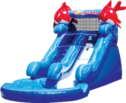 Lil Kahuna Inflatable Water Slide
