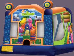 Backyardigans Combo Slide Bounce