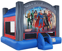 Justice League Deluxe Bounce House