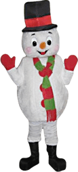 Frosty The Snowman Mascot Character