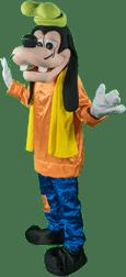 Goofy Mascot Character