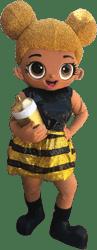 LOL Bee Mascot Character