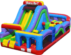 Relay Race Obstacle Course