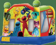 Elmo Slide Bounce Combo