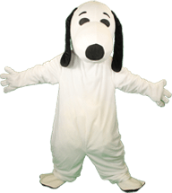Snoopy Mascot Character