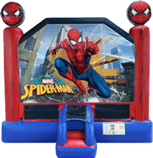 Spiderman Deluxe Bounce House