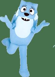 Yo Gaba Gaba – Toodee Mascot