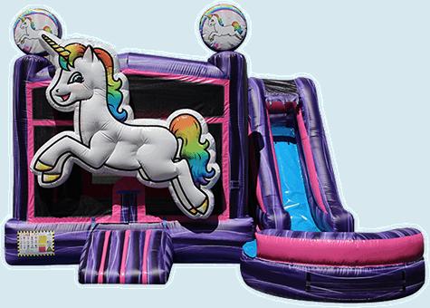 5 in 1 Unicorn Combo Slide